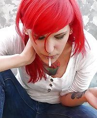 Beautiful girls spit (Spit fetish)