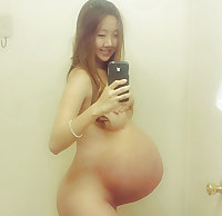 Pregnant korean woman
