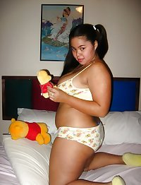 NON NUDE Filipina Cute Chubby Pinay Teen 1 in panties