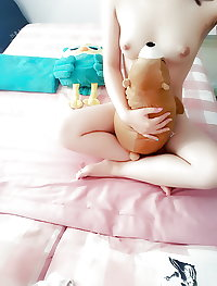 Cute chinese college girl part 1