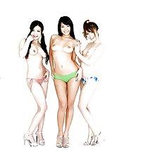 Naked Girl Groups 85 - Japanese Dolls