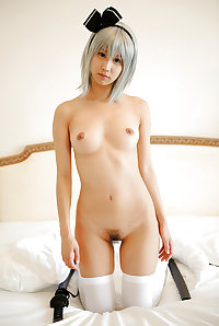 Riku Minato, nice cute pornstar, cute body, cute long feet