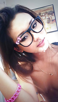 Asian Sweethearts with glasses