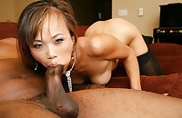 Your asian wife loves sucking cocks