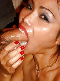 Tattoed Thai Slag, Cum Eater