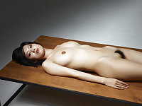 Asian Delights 4 - A very not Asian girl on a table