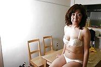 Asian Granny Strip & Fuck