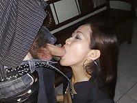 Asian Girls Sucking Some Cock