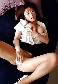 A Sexy Japanese Hottie with BIG Tits!