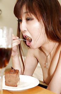 Japanese girl black cock creampie fuck