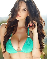 Bimbos, Asian, Caucasian and other Big tits fetish