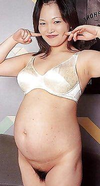 Pregnant asian women 3
