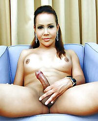 Blond Ladyboy Talisha from Bangkok
