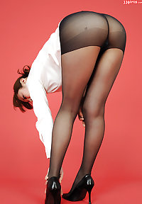 Asians in nylons -42