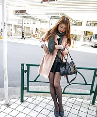 Asians in nylons -36