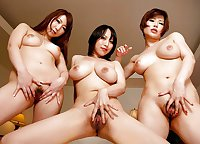 Naked Girl Groups 24 - Girls from Japanese Group Sex Scenes