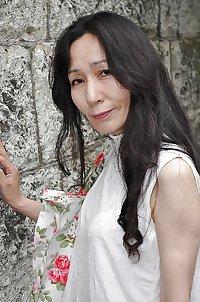 Japanese cute mature Nobue