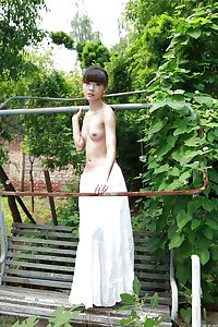Chinese wife nude in public